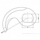 Cuchilla cutter Cato 75 tai R-204 4mm