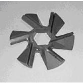 Cuchilla 6 brazos hojas insertables WK-160-65