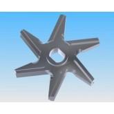 Cuchilla WK-160 200 300 6 brazos doble corte